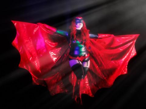 Dolly Monroe as Batwoman